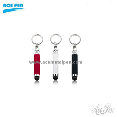 keychain touch pen,mini stylus pen