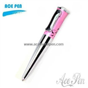 Metal Ball Pens with elegant design specially for lady
