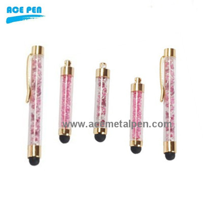 Fashional stylus pen with crystal