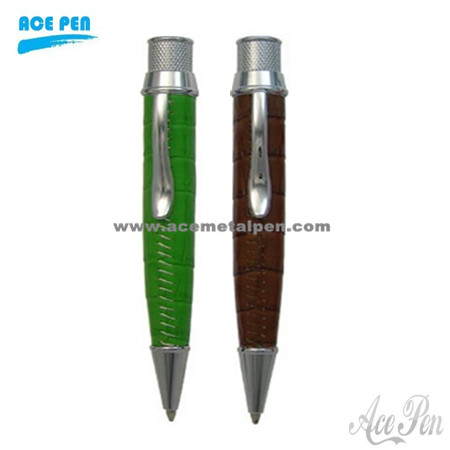 Hot Sale Exclusive leather ballpoint pen