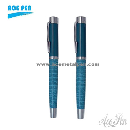Quality  leather metal pen for business gift