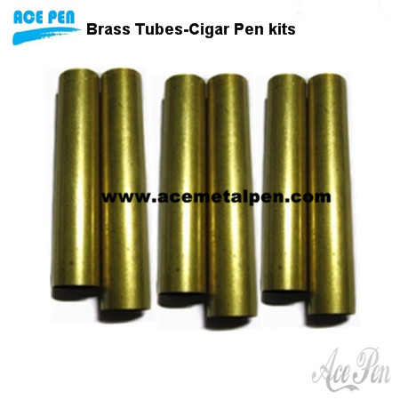 Replacement Brass Tubes for Cigar Pen Kits