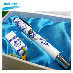 Blue and White Porcelain Pens 015