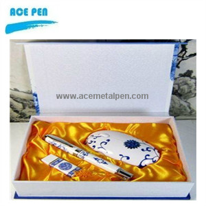Blue and White Porcelain Pens  017