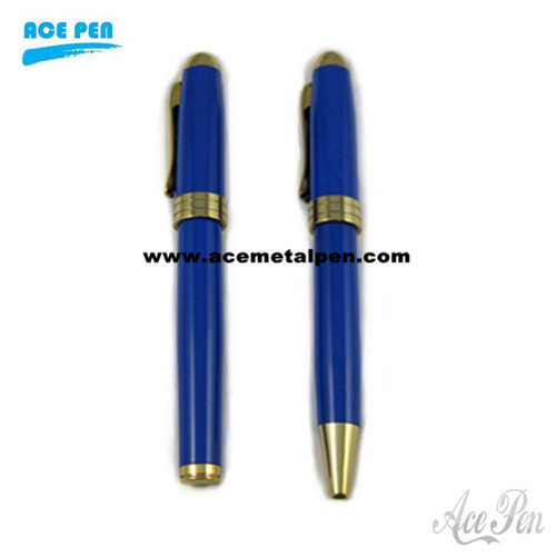 Twin Pen including a rollerball pen and a twist ballpoint pen