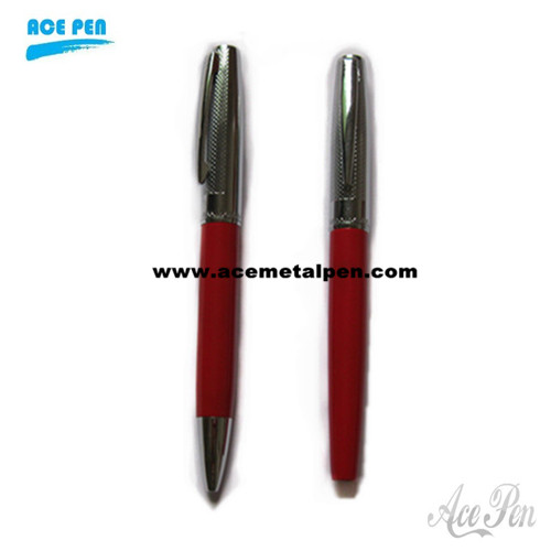 Red Twin Pens with fashion design