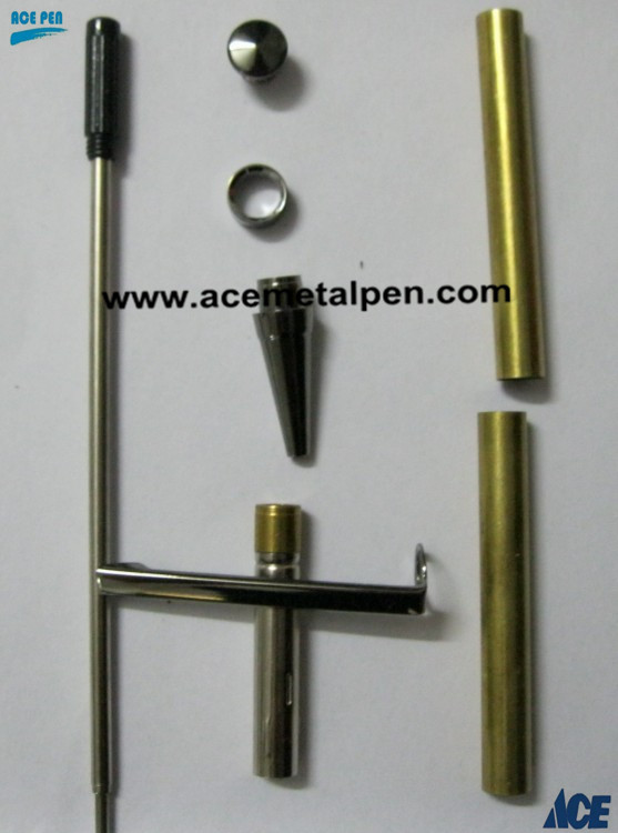 7mm Slimline Pen Kit in different finishes