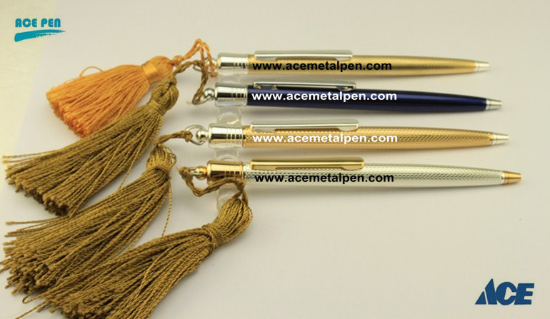 High Quality fashion Novelty Ball Pens with nice tassels