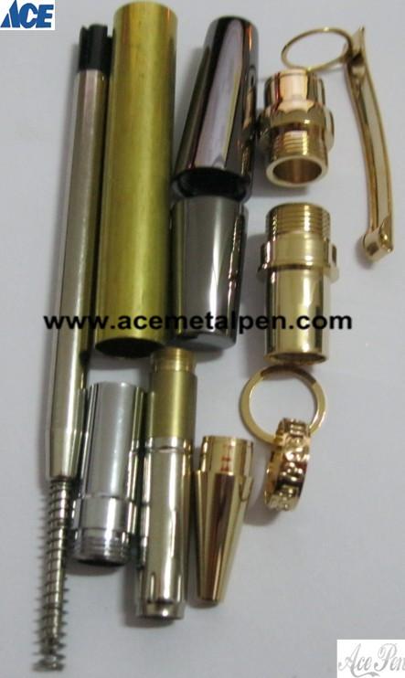 Sierra Pen Kits in 24KT Gold/ Gun Metal finish